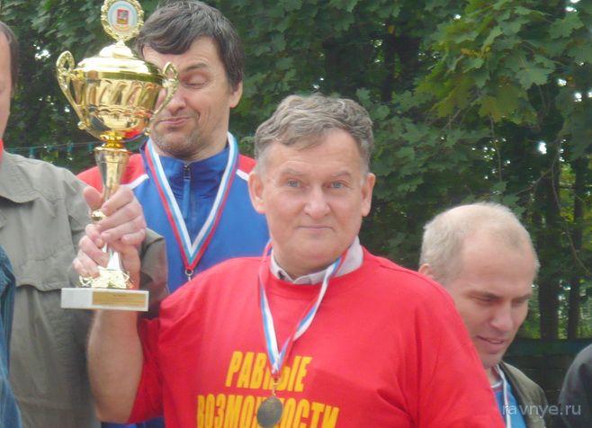 Борис Денисов - Чемпион России по шашкам